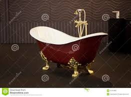 gold clawfoot bath tub royalty free stock photo image 21319865