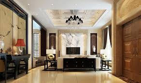 Chinese Living Room Chinese Living Room Wall Interior Design