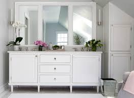 White Framed Bathroom Mirrors Exciting Vanity Light Mirror Design Ideas