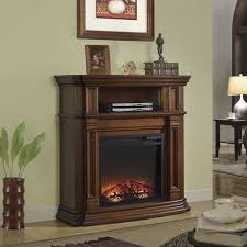 Electric Media Fireplace Fingerhut Mcleland Design Walnut Electric Media Fireplace