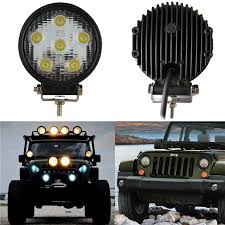 Jeep Led Lights Round 5 Led Lamp 18w Led Work Light Bar Off Road Suv Atv Jeep