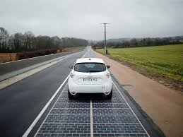 Solar Power Traffic Lights by The World U0027s First Solar Panel Road Has Opened In France Business