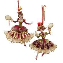 kurt adler 4 5in resin friendship dove ornaments 2 set