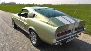 67 gt shelby mustang 1967 shelby gt500 revving and accelerations
