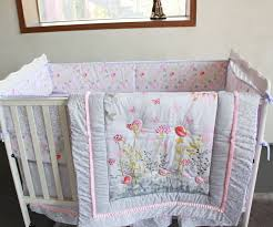 Cheap Nursery Bedding Sets Giol Me Num Birds Flowers Crib Baby Bedding Set 100 Cotton