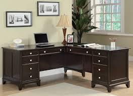 Modern L Shaped Office Desks Wondrous Inspration Home Office L Shaped Desk Modern Home Office