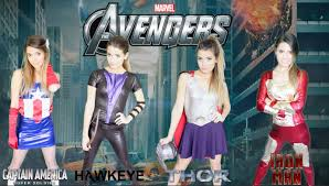 Halloween Costumes Girls Diy Diy Marvel Avengers Halloween Costumes Easy Group Costume