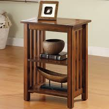 mission style end tables furniture of america valentin antique oak mission style end table