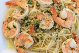 shrimp scampi a delicious italian pasta dish with lot u0027s of