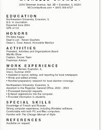 Phi Beta Kappa Resume Download How To Write A High Resume For College