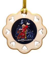 ornament 2016 mickey snowflake disney world