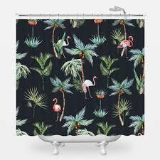 Flamingo Shower Curtains King Flamingo Shower Curtain Wallsneedlove