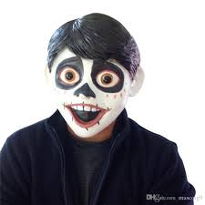 day of the dead masks 2018 coco migul costumes day of the dead mask kid