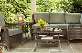The Home Depot Patio Furniture by Create U0026 Customize Your Patio Furniture Spring Haven Grey