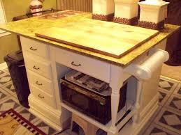 Diy Island Kitchen Homely Inpiration Diy Kitchen Island From Desk Elegant Kitchen