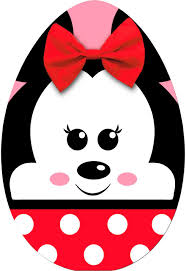minnie mouse easter egg minnie mouse egg easter card greeting cards hallmark