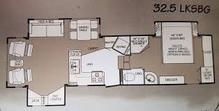 hitchhiker rv floor plans nuwa hitchhiker ii rvs for sale