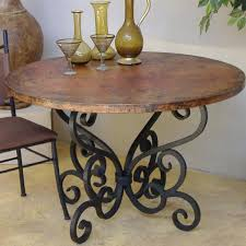wrought iron dining table set iron wood dining table iron wood top dining table wrought iron wood