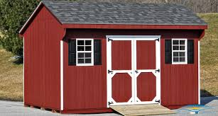 Barn Roof Styles by Quaker Shed Amish Shed Horizon Structures