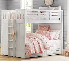 Pottery Barn White Twin Bed Best 25 Full Size Bunk Beds Ideas On Pinterest Full Storage Bed