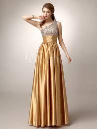 milanoo robe de mariã e vestido de de satén elástico con escote a un hombro