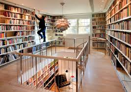 Home Library Design Interior Delightful Kids Home Library Design And Ladder Also