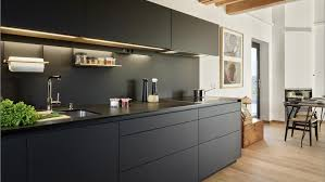 black island kitchen black and grey kitchens by santos designs that add character and