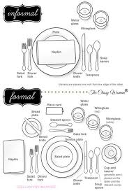 how to set a dinner table correctly 7 best manners respect class images on pinterest dreams be kind