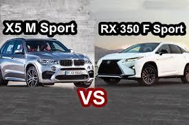 lexus vs infiniti vs bmw benim otomobilim 2016 bmw x5 m sport vs 2016 lexus rx f sport