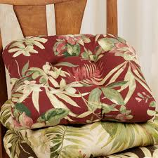 Patio Chair Cushion by Isadora Indoor Outdoor Reversible Chair Cushion