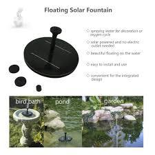 solar powered garden fountain canada home outdoor decoration
