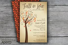 fall bridal shower ideas fall in bridal shower invitation digital file 2316651