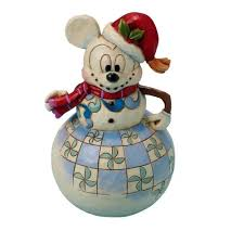 disney traditions mickey mouse swaying to the season figurine