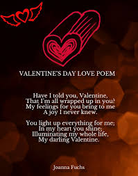 s day for him valentines day poems poems for
