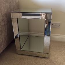 cube mirror side table magnificent next side tables with next mirrored cube side table in