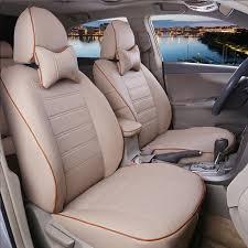 housse de siege auto personnalisé ajustement personnalisé housse de siège de voiture en cuir pour