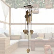decor wind chimes wind bell metal 8 hanging ornament