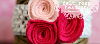 felt headbands diy tutorial felt headband see craft