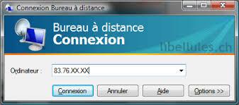 connexion bureau distance connexion bureau à distance sous xp depuis vista portail