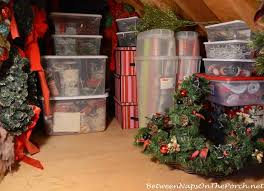 Christmas Decoration Storage Containers by Storage U0026 Organization Ideas