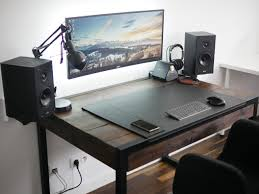 Laptop Desk Setup Cool Computer Desks Small Desk Setup Computer Table Setup Office