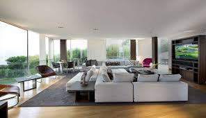 resort home design interior modern villa design with lavish infinite pool and outdoor sitting