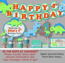 dinosaur birthday party supplies dinosaur birthday party decorations or baby shower invitations