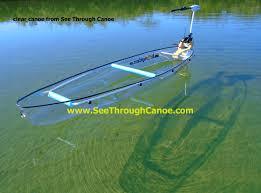 clear canoe from see through canoe