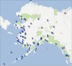 Map Of Us And Alaska by Community Based Monitoring Programs In Alaska Alaska Ocean