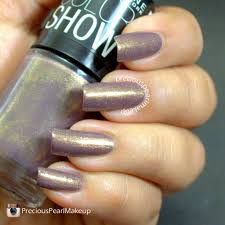 preciouspearlmakeup maybelline color show nail lacquer buried