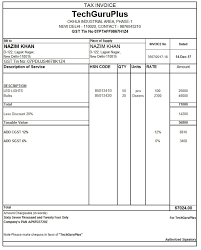 draft invoice format free sample example format download simple