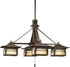kichler outdoor lighting fixtures kichler 15409oz four light chandelier amazon com