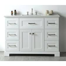 48 bathroom vanity with top canada inch white lowes double sink
