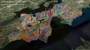 Neighborhoods Seattle Map by Seattle Big Data Hackathon U2013 Cloudbiguy